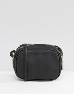 Маленькая сумка через плечо Pieces Larissa - Черный