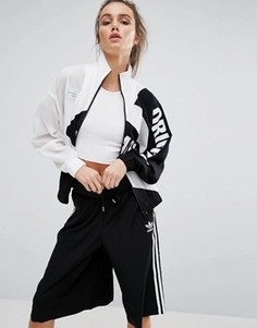 Бомбер с логотипом adidas Originals Berlin - Мульти