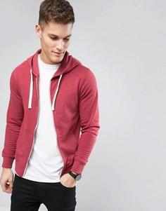 Худи на молнии Produkt - Красный