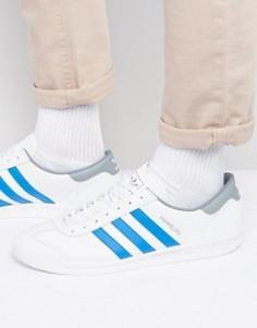 Белые кроссовки adidas Originals Hamburg BB2779 - Белый