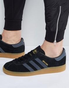 Черные кроссовки adidas Originals Munchen BB5295 - Черный