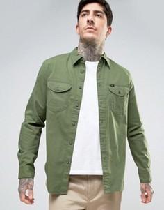 Рубашка классического кроя Lee Worker - Зеленый