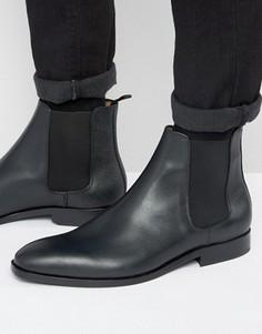 Ботинки челси из зернистой кожи Paul Smith Gerald - Черный