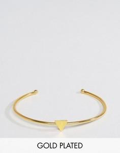 Браслет с треугольной вставкой Ottoman Hands - Золотой