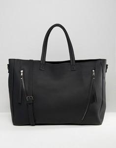 Дорожная сумка Pieces Gabbi - Черный