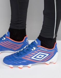 Футбольные кроссовки Umbro Medusae Club HG - Синий