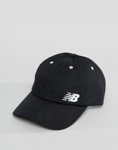 Черная классическая кепка с логотипом New Balance - Черный