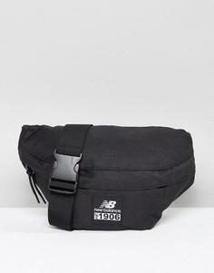 f32ed9703865 Черная классическая сумка-пояс с логотипом New Balance - Черный