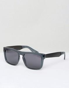 Зеленые квадратные солнцезащитные очки Vans V0007E5RW - Зеленый