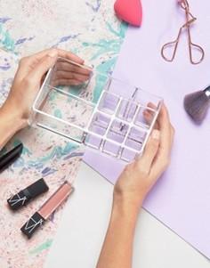 Органайзер для косметических средств - Бесцветный Beauty Extras