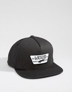 Черная бейсболка Vans VQPU9RJ - Черный