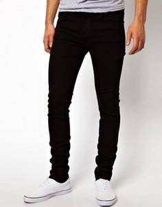 Черные джинсы скинни Dr Denim Snap - Черный