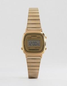 Цифровые часы Casio Mini LA670WEGA-9EF - Золотой