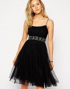 Балетное платье миди из тюля Needle & Thread - Черный