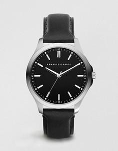Часы с кожаным ремешком Armani Exchange AX2149 - Черный