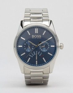 Часы с хронографом и ремешком из нержавеющей стали BOSS By Hugo Boss 1513126 - Серебряный