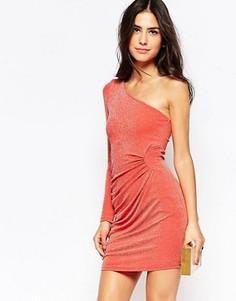 Облегающее платье Jessica Wright Kyra - Оранжевый