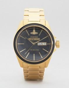 Золотистые часы Vivienne Westwood - Золотой