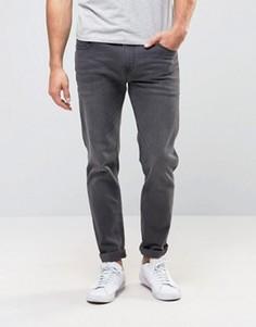 Серые стретчевые джинсы слим ASOS - Серый