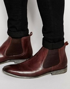 Кожаные ботинки челси Base London - Коричневый