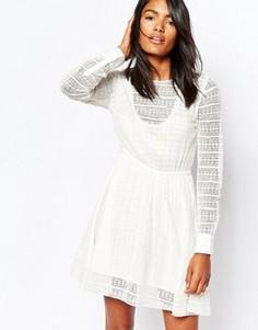 Светло-бежевое платье Gat Rimon Muna - Кремовый