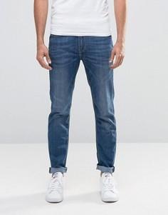 Синие стретчевые джинсы слим Lee Arvin - Синий