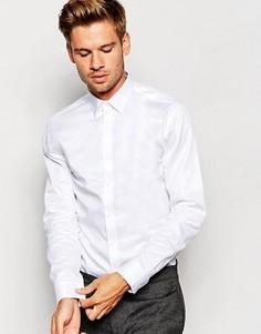 Классическая рубашка зауженного кроя Selected Homme - Белый