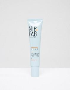 Ночной очищающий гликолевый гель NIP+FAB 40 мл - Бесцветный