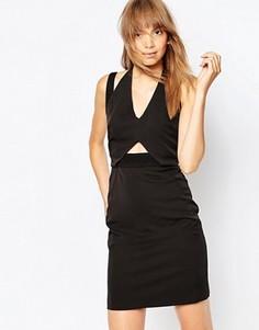 Платье с двумя бретелями Suboo Cubic - Черный