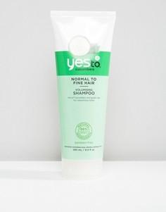 Шампунь для объема волос Yes To Cucumbers - 280 мл - Бесцветный