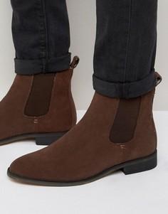 Замшевые ботинки челси Bellfield - Коричневый