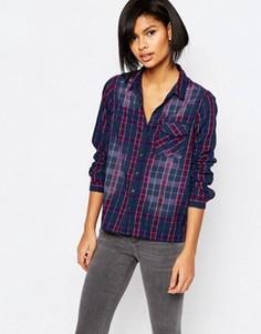 Рубашка в клетку с эффектом омбре Vero Moda - Мульти