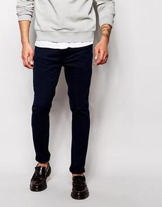 Эластичные джинсы слим Farah - Синий
