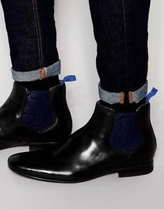 Ботинки челси Ted Baker Hourb - Черный