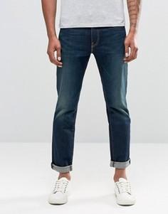 Суженные книзу темные джинсы с эффектом поношенности Levis 511 - Серый Levis®
