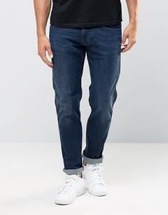 Темные эластичные джинсы слим Replay - Синий