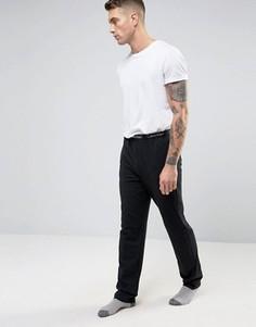 Штаны слим для дома Calvin Klein - Черный