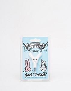 Разветвитель для наушников с американским зайцем - Мульти Gifts