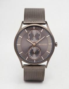 Черные часы Skagen Holst SKW6180 - Черный