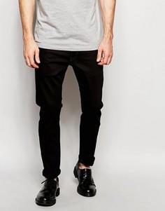 Эластичные черные джинсы слим G-Star 3301 - Черный