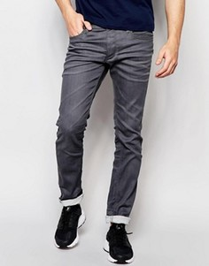 Серые джинсы слим Jack & Jones Intelligence - Серый