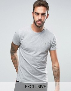 Эластичная футболка эксклюзивно для Farah - Синий