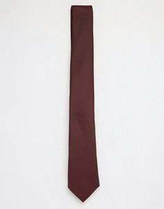 Бордовый галстук ASOS - Красный