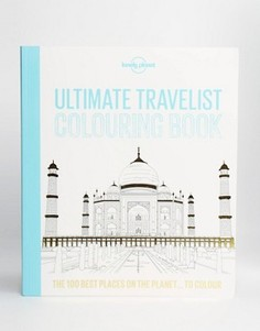Раскраска Ultimate Travelist Lonely Planet - Мульти Books