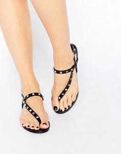 Черные сандалии с асимметричным дизайном ALDO Yadoma - Черный