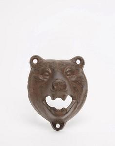 Открывалка для бутылок в виде медведя Mens Society - Мульти