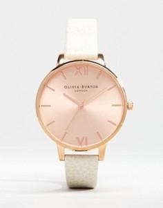 Часы цвета розового золота Olivia Burton OB13BD11 - Кремовый