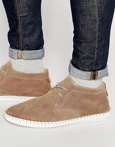 Замшевые туфли Hudson London Soralo - Синий