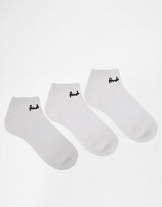 3 пары спортивных носков Pringle - Белый