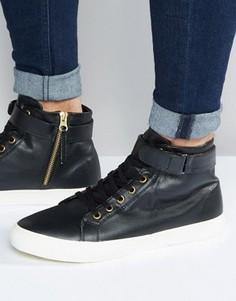 Высокие кроссовки Walk London Finchley - Черный